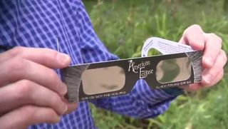 Eclipse glasses are increasingly harder to find