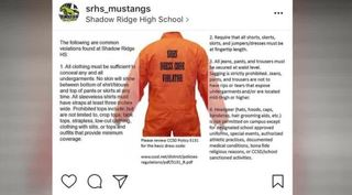 School implies some students must wear jumpsuits