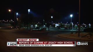 Police: Reports of gunfire at Legacy High School