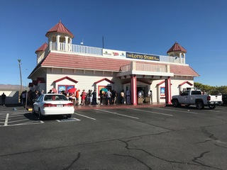 Lottery fever at the California state line