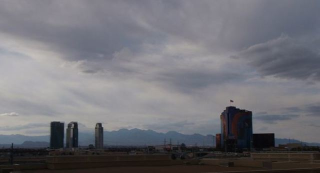 Clouds, rain in forecast for Las Vegas eclipse