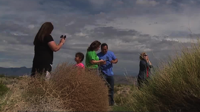 Vegas residents travel to beat eclipse clouds