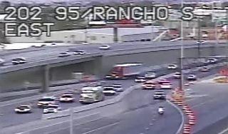 US 95 ramp closure, lane shifts through January