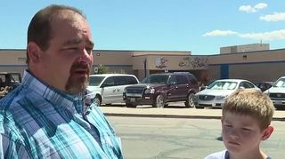Father claims fired nanny picked up his son
