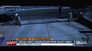 Family says bounce house was taken from yard
