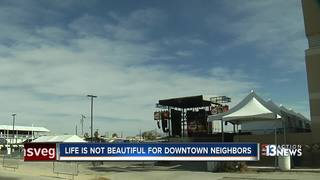 Life is Beautiful concerns downtown residents