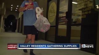 Vegas residents gathering supplies for Harvey