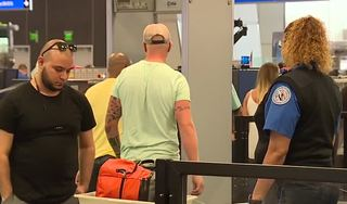McCarran Airport speeds up security check-in