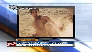 Graphic video shown to Las Vegas 7th graders