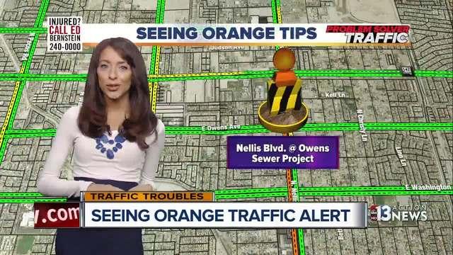 Seeing Orange Traffic for 8-20