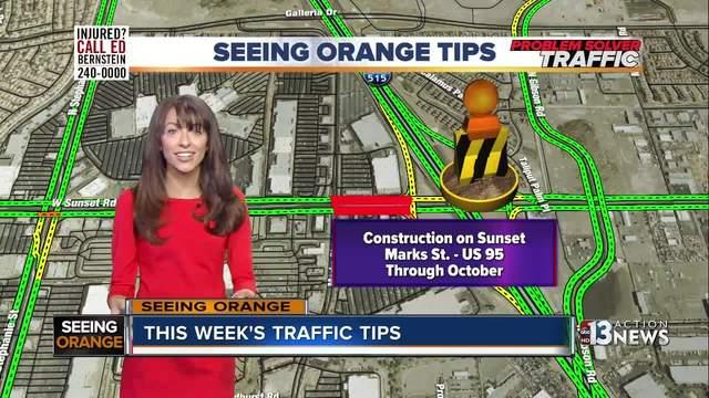 Seeing Orange Traffic for 8-6
