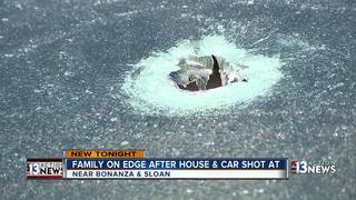 Man wakes up to shots fired at cars, home