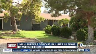 Man in critical condition after fight in NLV