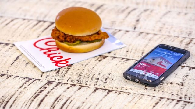 Chick-fil-A offers free breakfast on mobile app