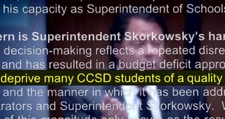 Superintendent Skorkowsky called incompetent