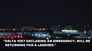 Engine fire causes plane's emergency landing