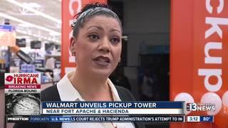 Walmart pickup tower debuts at Las Vegas store