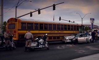Dozens of CCSD buses already involved in crashes