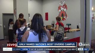 UNLV tied for most diverse campus