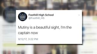 Foothill HS regains control of Twitter account