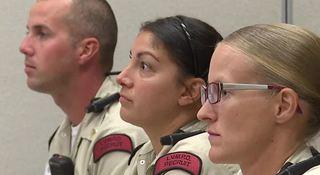 Las Vegas police invite women to boot camp