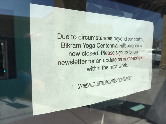 Yoga studio owner offers refunds after closure