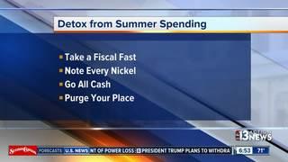 Tips to detox from summer spending