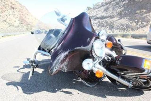 Motorcyclist ejected in crash near SR 160