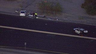 Police car involved in fatal crash