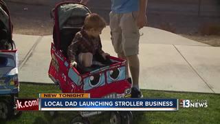Las Vegas Dad-preneur building Stroller Costumes