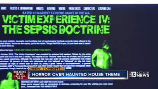 Haunted house theme causing controversy