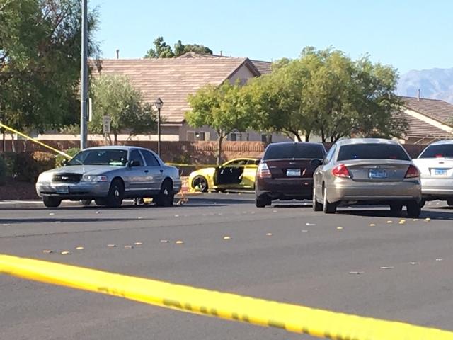 2 drivers exchange gunfire after NLV road rage