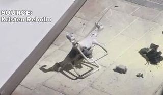 Drone at Palms Place pool injures young woman