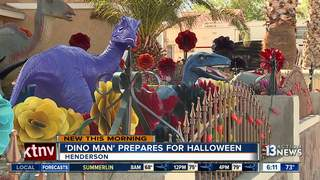 'Dino-Man' expecting thousands for Halloween