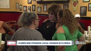 Woman's cruise cut short because of hurricane