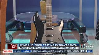 Food and Wine tasting to help Nathan Adelson