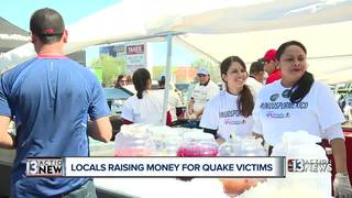 Las Vegas community donates to Mexico
