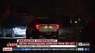 Man dies from choking during sexual act