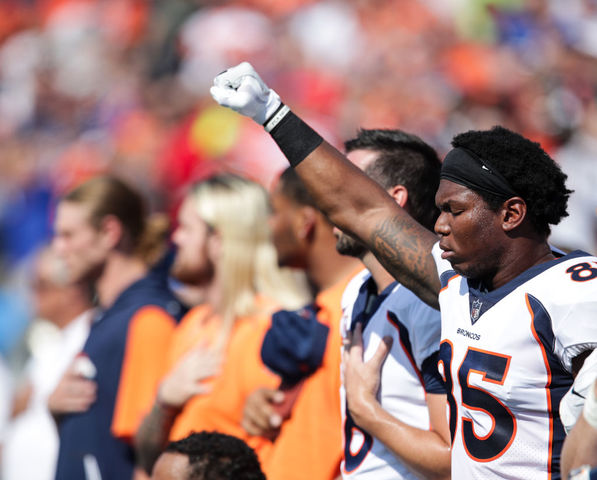 'We'll be standing together': Broncos announce end of anthem demonstrations