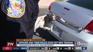 Henderson K9s travel to Utah for training