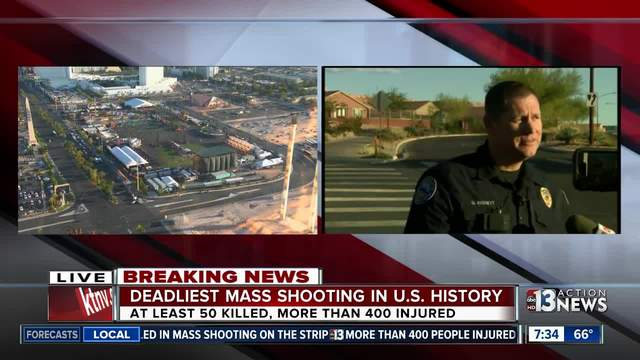 Motive for Las Vegas gun massacre remains unclear
