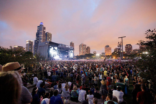 Police investigating reports Las Vegas shooter booked room overlooking Lollapalooza