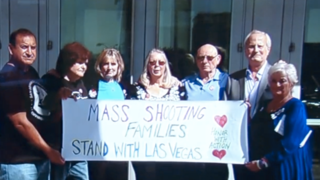 Mass shooting survivors gather to support Vegas