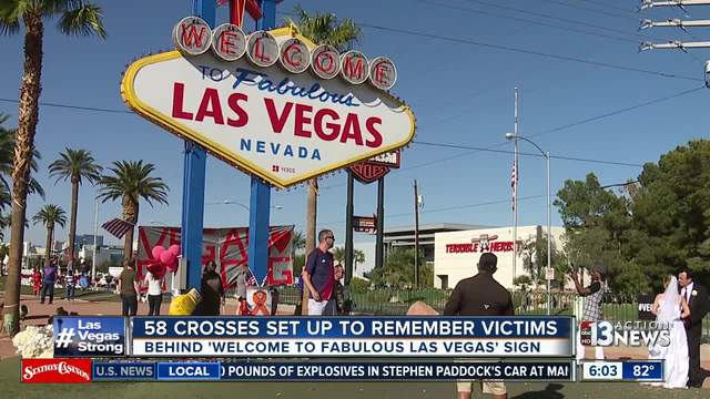 IL man creates, delivers crosses to Las Vegas to memorialize victims