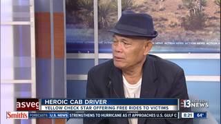 Las Vegas cab driver helped shooting victims
