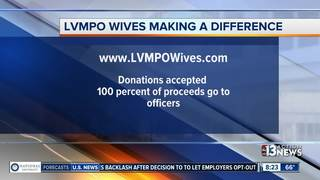 Las Vegas police wives looking for donations