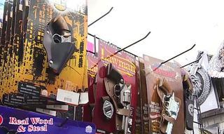 Halloween store moves toy weapons after shooting