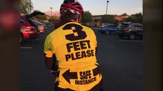 Leave 3-feet for cyclist or get ticket