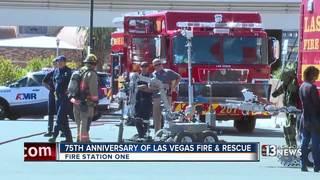 Las Vegas Fire & Rescue celebrates 75 years