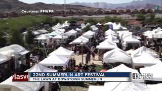 More than 100 artists at Summerlin Art Festival
